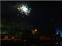 SD9927 : Hebden Bridge firework display - 5th November 2011 by Phil Champion
