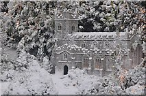SX9265 : Torquay : Babbacombe Model Village - The Church by Lewis Clarke