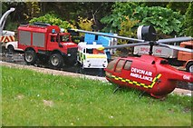 SX9265 : Torquay : Babbacombe Model Village - Accident Scene by Lewis Clarke