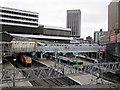 SP0686 : Birmingham New Street Station Redevelopment - Footbridge Now Replaced by Roy Hughes