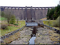 SN8663 : Caerwen Dam, Elan Valley, Mid-Wales by Christine Matthews