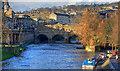 ST7564 : Pulteney Bridge - Bath (1) by Mike Searle