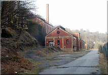 ST2198 : Former Navigation Colliery buildings, Crumlin by Jaggery
