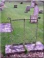 SY5790 : Boot scraper, St Peter's Church by Maigheach-gheal