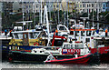J5082 : Boats at Bangor harbour by Rossographer