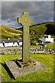 NR2163 : Kilchoman Cross, Islay by Julian Dowse