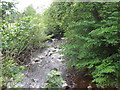 NY5746 : Croglin Water from Croglin Bridge by Les Hull