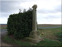 SE4738 : Towton Battlefield Memorial Cross by JThomas