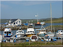 HU3455 : Aith: marina and harbour by Chris Downer