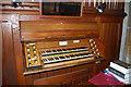 TQ7038 : Organ Console, St Margaret's church, Horsmonden by Julian P Guffogg