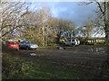 SJ2000 : Carpark at Dolydd Hafren Nature Reserve by Dave Croker