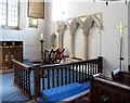 TL7229 : St Andrew, Shalford - Sanctuary by John Salmon