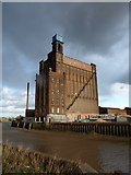 TA0930 : British Extracting Company Silo and Receiving House, Hull by Derek Harper