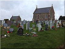 ST0107 : Cullompton Cemetery by David Smith