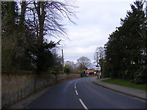 TM2373 : B1118 Wilby Road, Stradbroke by Adrian Cable