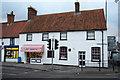 TF1378 : White Lion Farmhouse by Richard Croft