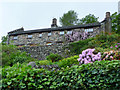 NY4003 : Houses in Troutbeck, Cumbria by Christine Matthews