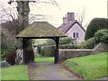 SY5889 : Lych gate, The Church of St Michael and All Angels by Maigheach-gheal