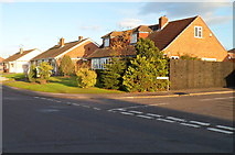 ST8558 : Seymour Road houses near the corner of Palmer Road, Trowbridge by Jaggery