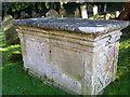 ST9929 : Chest tomb, St George's Churchyard by Maigheach-gheal