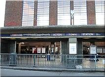TQ1979 : Acton Town Station by Alex McGregor