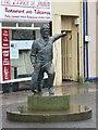 NT9464 : Eyemouth: Willie Spears memorial by Chris Downer