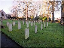ST9929 : War Graves by Jonathan Kington