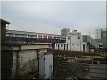 TQ2775 : Clapham Junction station buildings and tracks by Rob Purvis