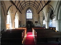 ST9929 : Interior, St George's Church by Maigheach-gheal