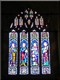 ST9929 : Stained glass window, St George's Church by Maigheach-gheal