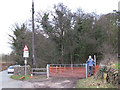 SJ9852 : Gate and stile at Basford Bridge by Stephen Craven