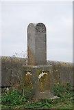 TQ7178 : Obelisk, Lower Hope Point by N Chadwick