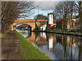 SJ7891 : Bridgewater Canal, Marsland Bridge by David Dixon