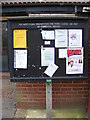 TM2445 : Martlesham Village Notice Board in The Square by Adrian Cable