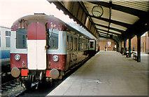 J3475 : MPD railcars, Belfast by Albert Bridge