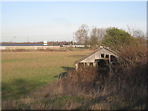 SK7352 : Dereliction near Southwell Racecourse by Jonathan Thacker