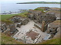 HY2318 : Skara Brae: one of the houses by Chris Downer