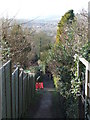 TQ5359 : North Downs Way at Otford by Malc McDonald