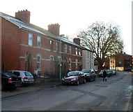 SO5140 : Canal Road houses, Hereford by Jaggery