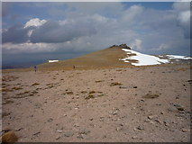 NJ1301 : On the barren summit plateau of Ben Avon by Alan O'Dowd