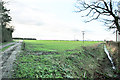 SE7327 : Footpath, Knedlington to Boothferry by Peter Church