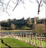 TM2863 : Framlingham Castle and the Mere by Evelyn Simak