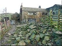 SE0023 : Bank Top Farm, Cragg Vale by Humphrey Bolton