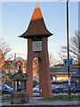 SJ7686 : Millennium Clock, Hale by David Dixon
