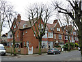 TQ2178 : Houses on Priory Avenue, Bedford Park by Alan Murray-Rust