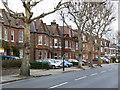 TQ2179 : Stamford Brook Road by Alan Murray-Rust