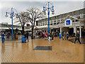 SD8010 : The Square, Millgate Centre by David Dixon