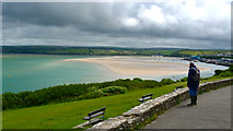SW9276 : St Saviours Point Padstow by Peter Skynner