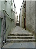 HU4741 : Hill Lane, Lerwick by Rob Farrow