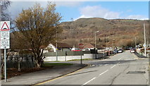 ST1888 : Trethomas crossroads by Jaggery